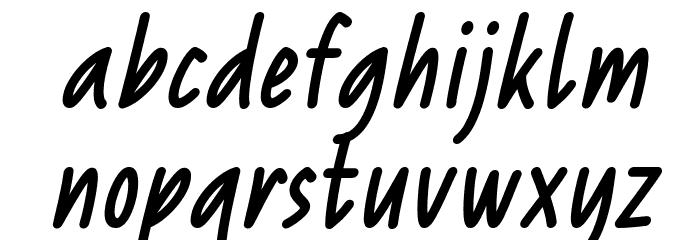 Reprineato Italic Font LOWERCASE