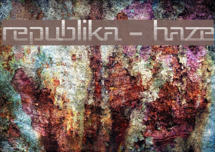 Republika - Haze Font examples