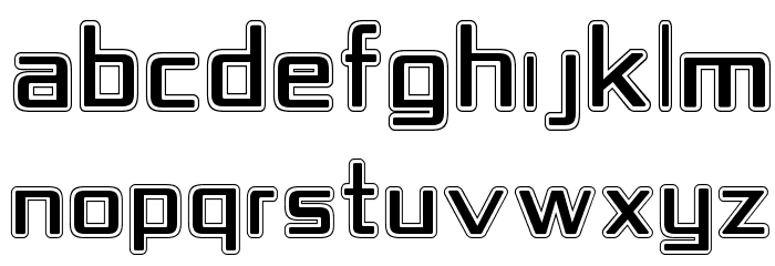 Republika IV - College Font UPPERCASE
