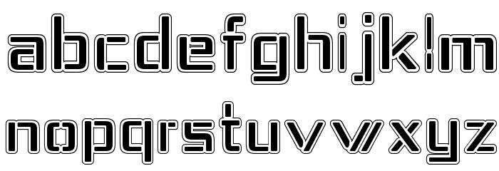 Republika IV - College Font LOWERCASE