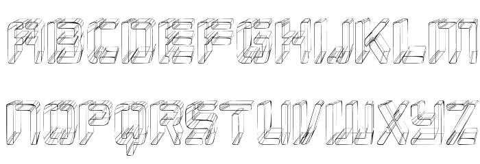 Republikaps Cnd - Sketch Font LOWERCASE