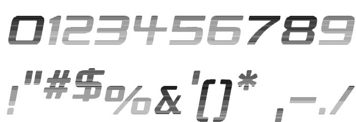 Republikaps - Haze Italic Font OTHER CHARS