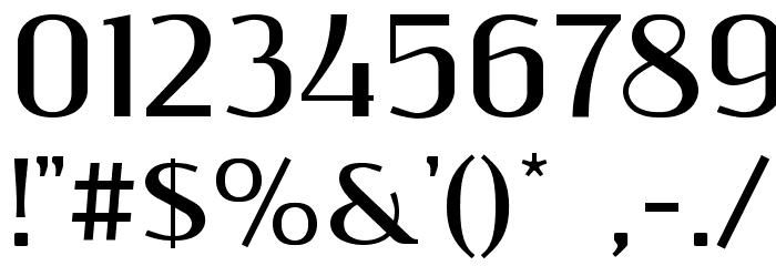ResagnictoBold Font OTHER CHARS
