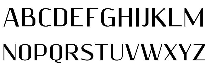 ResagnictoBold Font UPPERCASE