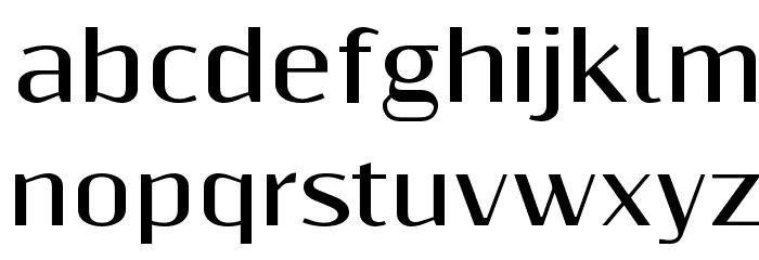 ResagnictoBold Font LOWERCASE