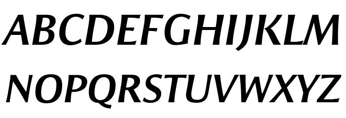 ResavskaBGSans-BoldItalic Fonte MAIÚSCULAS
