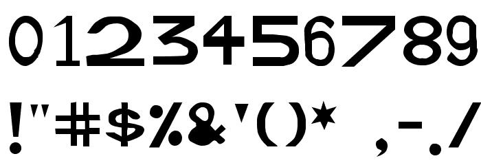 Retardo Font OTHER CHARS