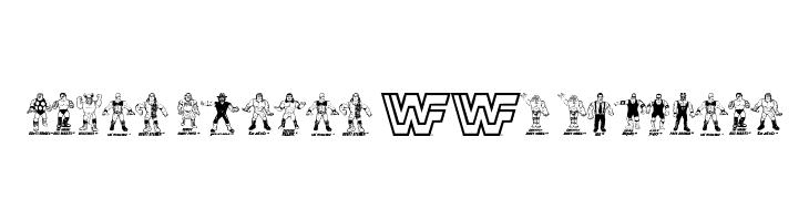Retro Hasbro WWF Figures  नि: शुल्क फ़ॉन्ट्स डाउनलोड