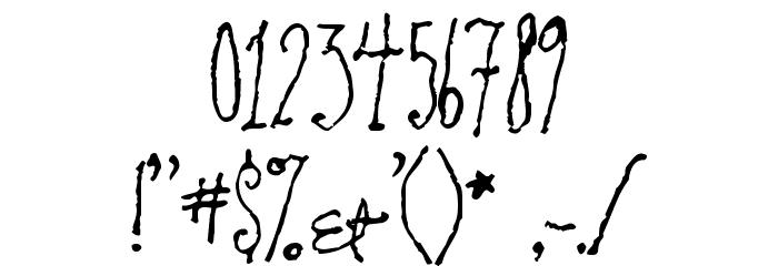 RevolvingDoor Font OTHER CHARS