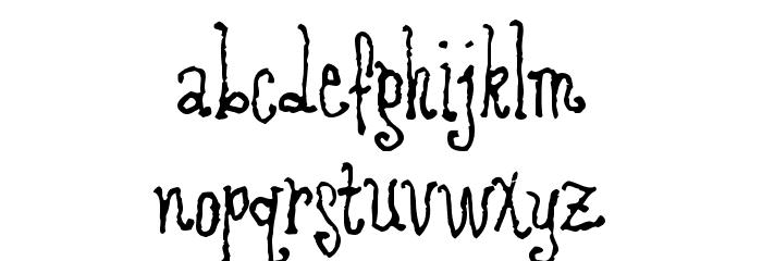 RevolvingDoor Font LOWERCASE