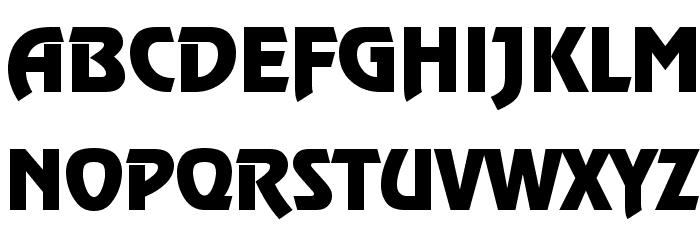 Revue Font UPPERCASE