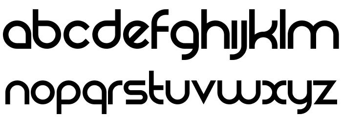 Rezland Logotype Font Font UPPERCASE
