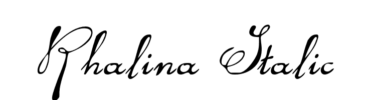 Rhalina Italic  Free Fonts Download