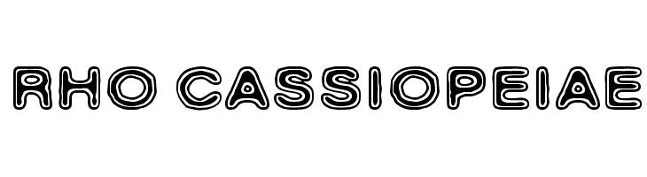 Rho Cassiopeiae  baixar fontes gratis