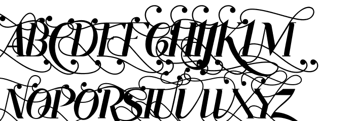 Rhonde Free Font UPPERCASE