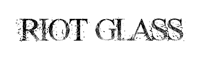 RIOT GLASS  Free Fonts Download