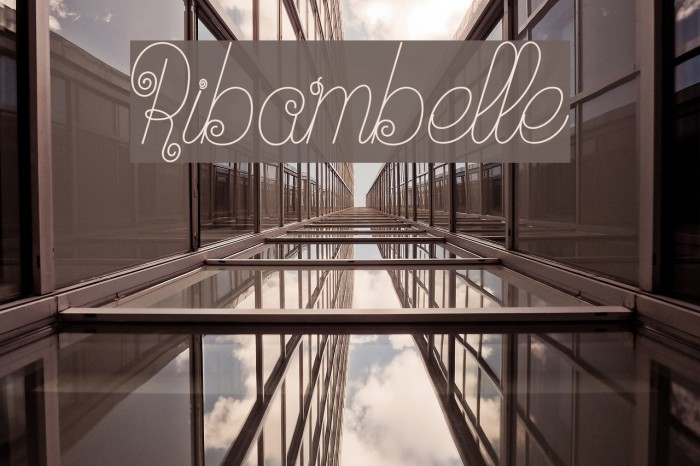 Ribambelle Font examples