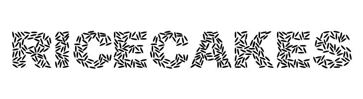 Ricecakes  Скачать бесплатные шрифты