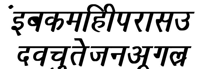 Richa Bold Italic フォント 小文字