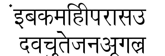 Richa Font LOWERCASE