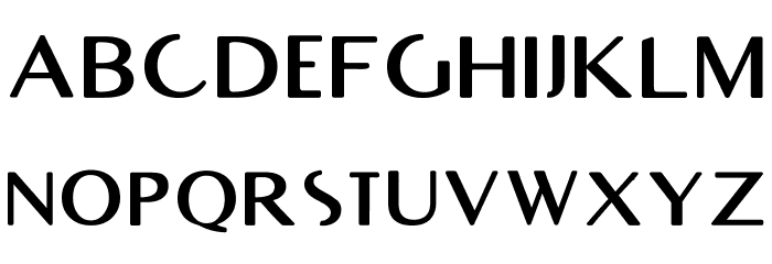 RighOn Bold Font UPPERCASE