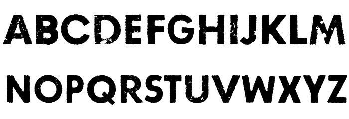 Right here, right now Font LOWERCASE