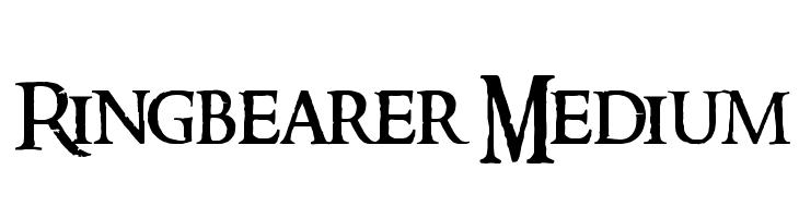 Ringbearer Medium  नि: शुल्क फ़ॉन्ट्स डाउनलोड