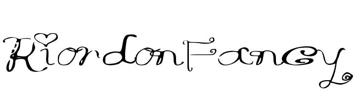 RiordonFancy  Скачать бесплатные шрифты