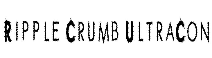 Ripple Crumb UltraCon  フリーフォントのダウンロード