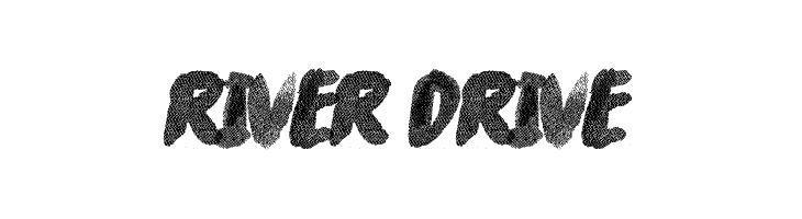 River Drive  Free Fonts Download