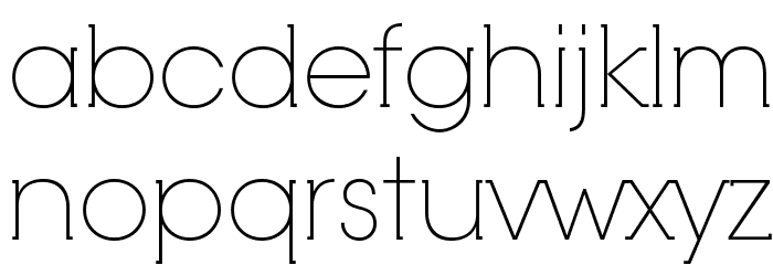 RNS Camelia Font LOWERCASE