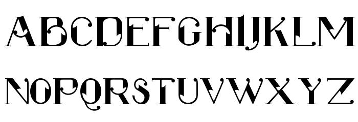 ROBBER Medium Font UPPERCASE