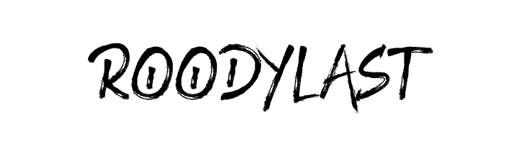 ROODY LAST  Free Fonts Download