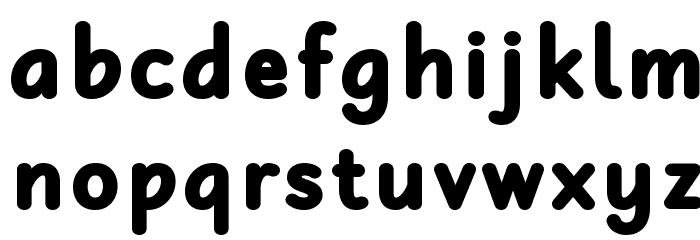 Robaga Rounded Black Шрифта строчной