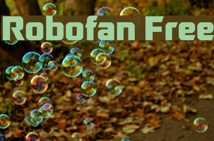 Similar Free Fonts for Robofan Bold