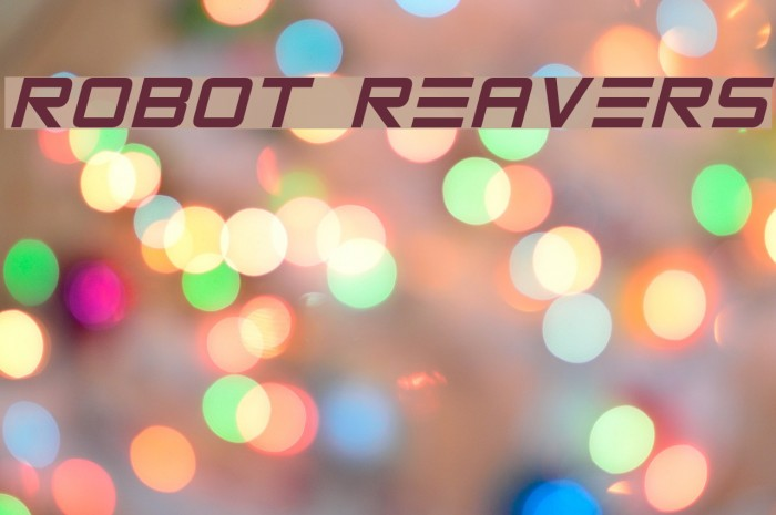 Robot Reavers Caratteri examples
