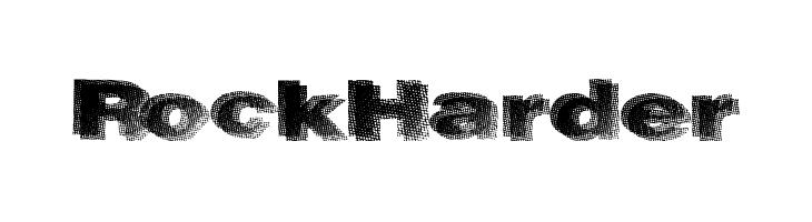 RockHarder  Free Fonts Download