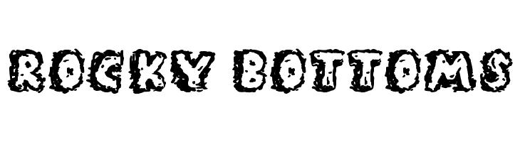 Rocky Bottoms Font