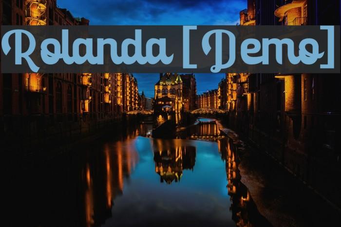 Rolanda [Demo] لخطوط تنزيل examples