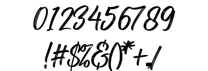 RolleteQaku-Regular Font OTHER CHARS