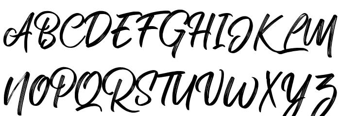 RolleteQaku-Regular Font UPPERCASE
