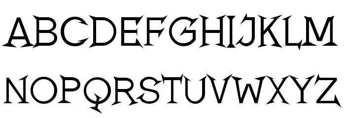 Romanicum Font Litere mari