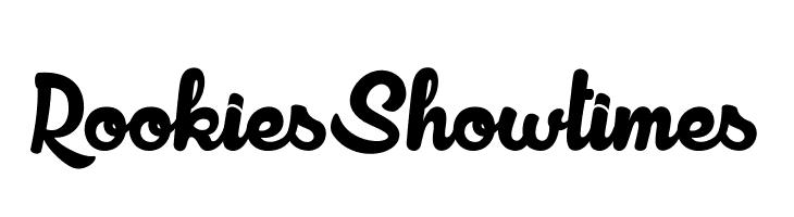 RookiesShowtimes  font caratteri gratis