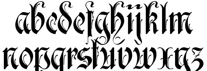 Rothenburg Decorative फ़ॉन्ट लोअरकेस