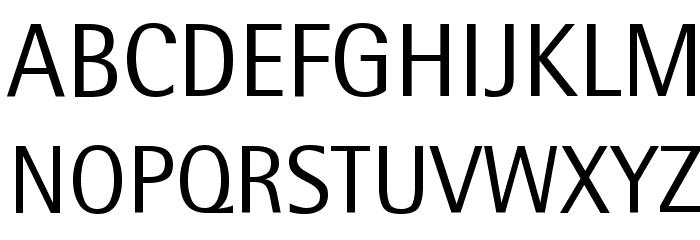 RotisSemiSans Font UPPERCASE