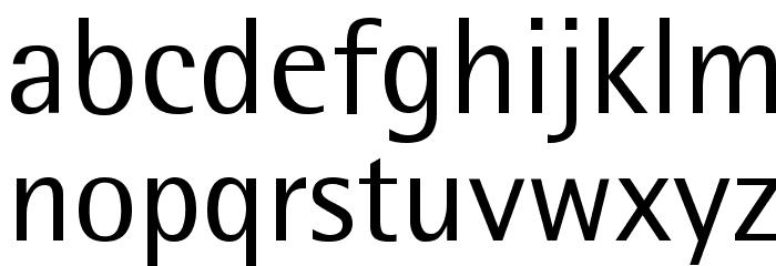RotisSemiSans Font LOWERCASE