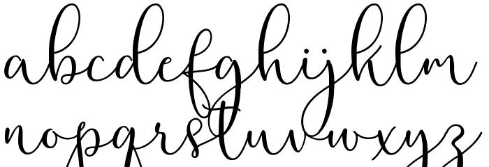 RottarityFeminine フォント 小文字