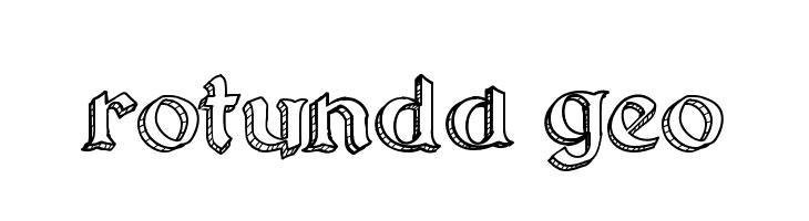 Rotunda Geo  Frei Schriftart Herunterladen