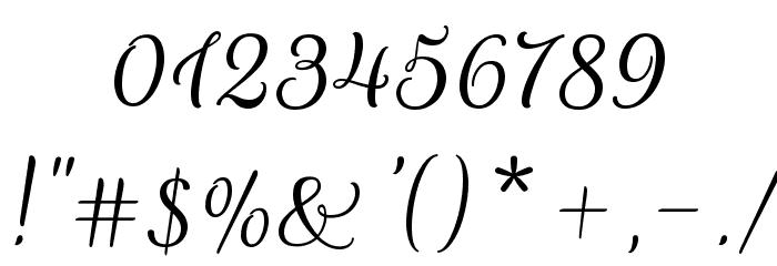 Rouge Script Font OTHER CHARS