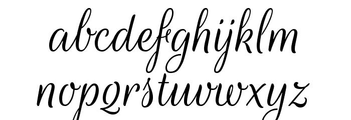 Rouge Script Font LOWERCASE
